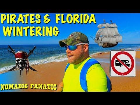Flagler Beach, Pirates, & Florida Wintering Review