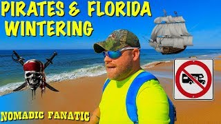 Flagler Beach, Pirates, & Florida Wintering Review