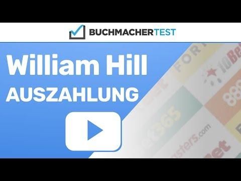 William Hill Auszahlung