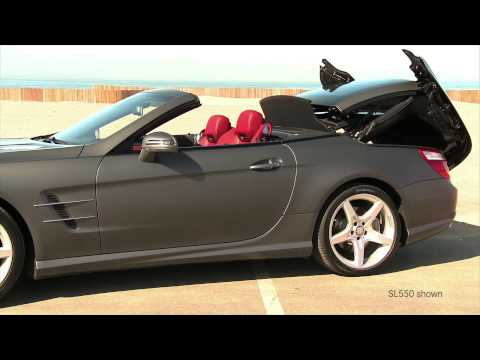 SL65 AMG Walk Around -- V-12 Hardtop Convertible Sports Car -- Mercedes-Benz