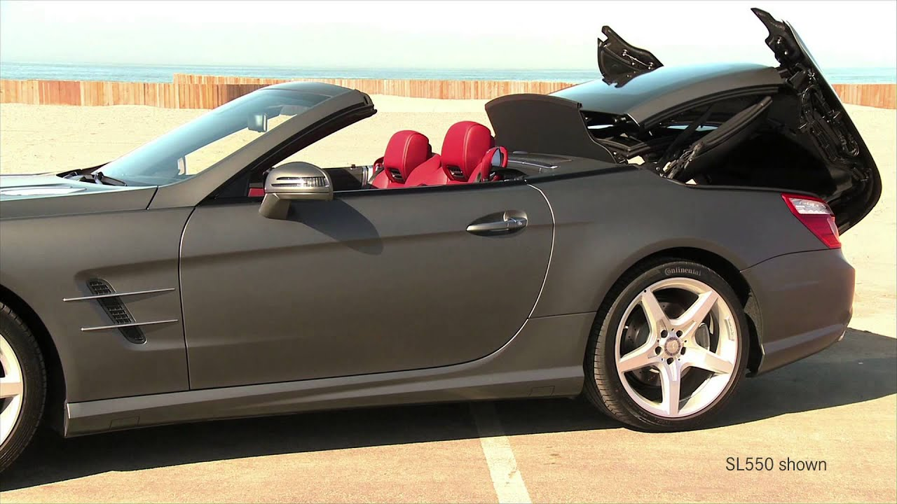 Sl65 Amg Walk Around V 12 Hardtop Convertible Sports Car Mercedes Benz