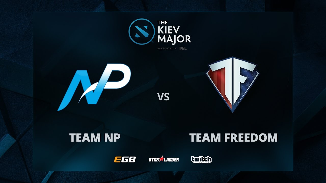 NP vs Freedom, Game 2, The Kiev Major NA Main Qualifiers Play-off
