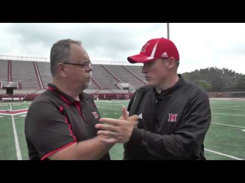 Miami Fall Camp Interview - Coach George Barnett
