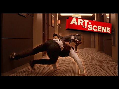 Inception Hallway Dream Fight - Art of the Scene
