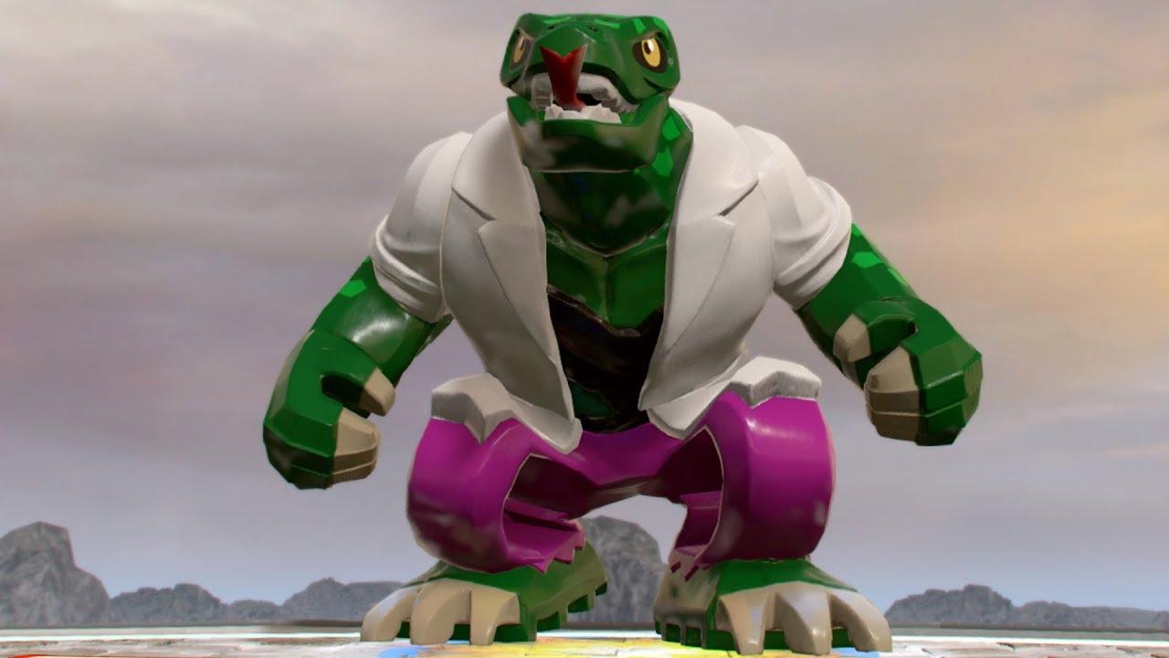 LEGO Marvel Super Heroes 2 - Lizard - Open World Free Roam ...