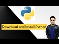 python tutorials for beginners in hindi - 2 - Download and install python