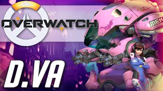 Overwatch Hero Spotlight - D.VA