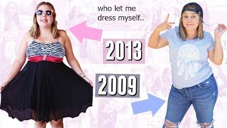 Recreating My Ugliest Outfits from High School