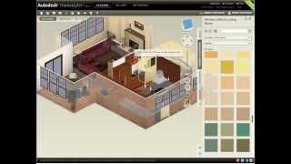 видео Autodesk Homestyler — проектирование дизайна интерьера онлайн