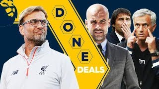 January 2018 Transfer Centre: Done Deals, PL Ins/Outs