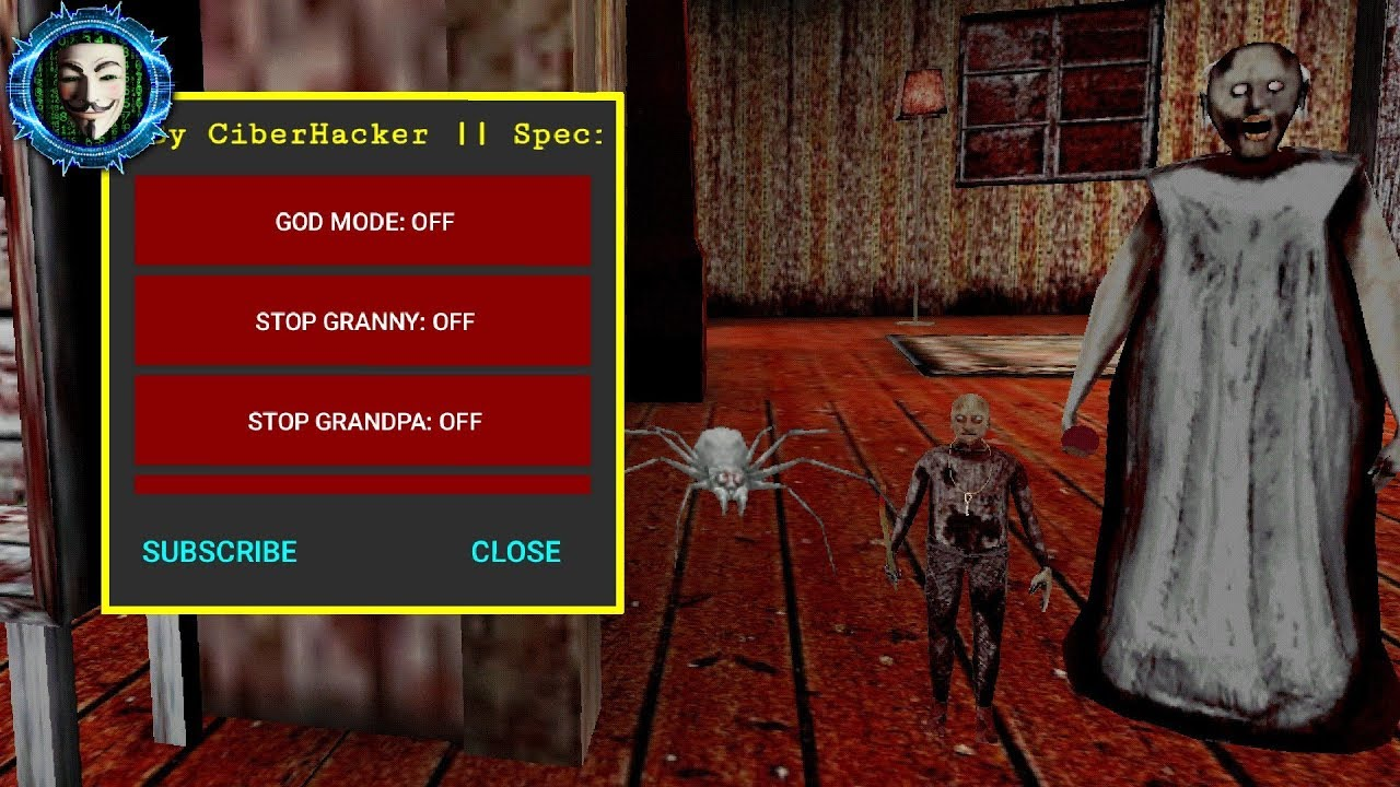 Granny Chapter Two Nightmare Mobile Mod Menu Apk Youtube