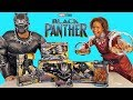 Black Panther Toy Challenge + Black Panther and Nakia ! || Toy Review || Konas2002