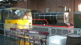 Half an Hour at (78) - Manchester MOSI & Liverpool Road Station 28.12.2014 - Class 77 EM2