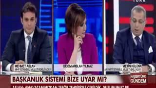 MHP'li Mehmet Aslan'dan AKP'li Külünk'e Tokat Gibi Cevap
