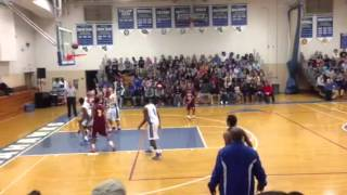 Feb 7,2014 Stephen Decatur high school basketball