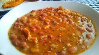 Receta de frijoles puercos de Colima  Recipe pigs beans of Colima