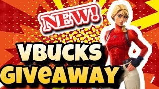 FORTNITE VBUCKS GIVEAWAY LIVESTREAM! PLAYING WITH SUBSCRIBERS!