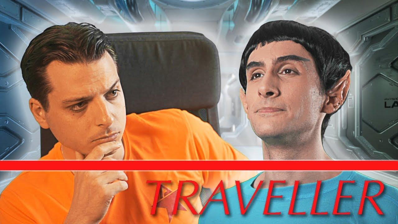 ???? David Bowie aurait adoré ce jeu de rôle ! Icosaèdre #5 - Traveller (Partie 1)