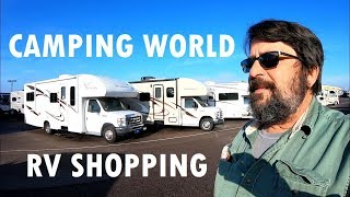 RV Shopping at CAMPING WORLD & Which is the Best RV for Me? - RV Living