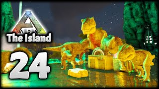 HATCHING AN EPIC ARMY OF ARK REXES! | ARK Survival Evolved (The Island)