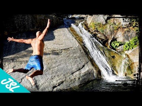 Devil's Slide (DANGEROUS Natural Water Slide of Willow Creek Trail, Sierra National Forest)
