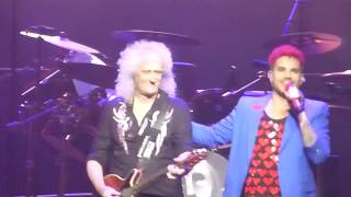 Queen + Adam Lambert  STL/Happy B'day Brian May TORONTO ACC 07-18-2017
