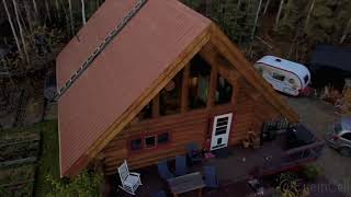 Our Cabin in Fairbanks, Alaska - Drone Edit @WhotheFis_StevieC