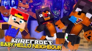 Minecraft Adventure - ROPO IS THE BABY HELLO NEIGHBOUR!!!