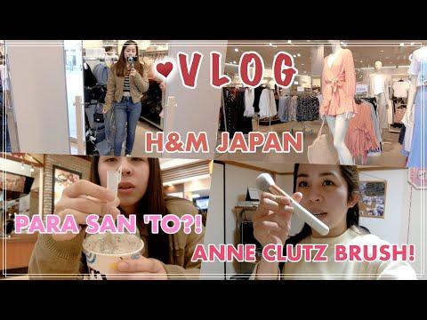 H&M JAPAN + ANNE CLUTZ BRUSH SET - MoniqueTakeda Vlogs 🌸