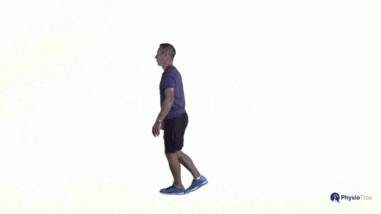Heel to Toe Walking Backwards