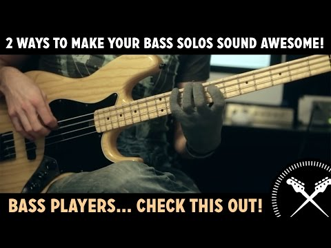 Download Youtube: 2 Ways To Make Your Bass Solos Sound Awesome! (L#85)