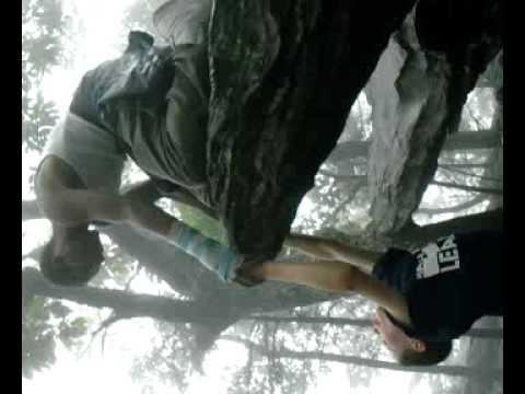 Philip falls off Hanging Rock