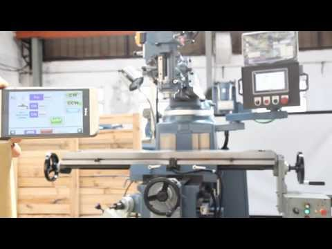 MILLING MACHINES - MobileTouch simple Automatic Control