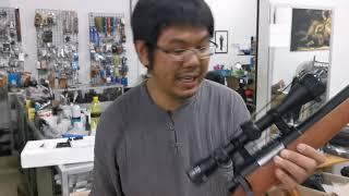 รีวิว  Sniper รุ่น mb03ระยะทดลองยิง 27เมตร