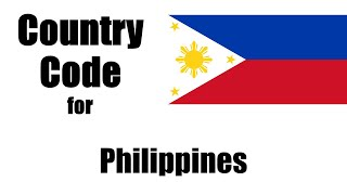 Philippines Dialing Code - Filipino Country Code - Telephone Area Codes in Philippines