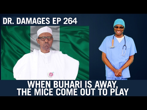 Dr Damages Ep 264: When Buhari Is Away, The Mice Come Out To Play