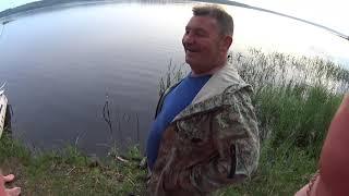 Рыбалка на озере Волго День первый