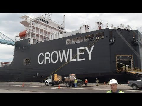07-26-18 New Crowley ship powered by liquefied natural gas