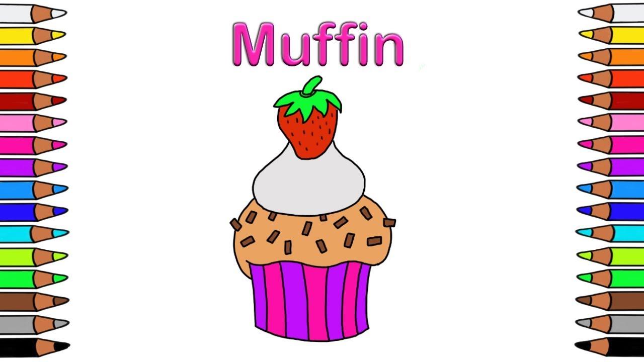 Ziemlich Muffins Malvorlagen Zum Ausdrucken Ideen ...