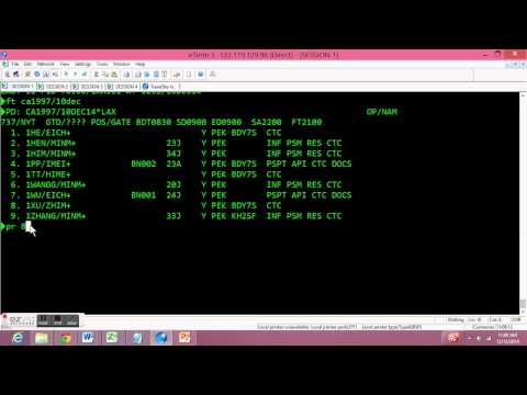 How to Check in Passengers in DCS system (TravelSky Technology)
