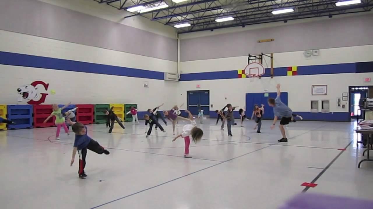 Kindergarten Dance: Cha Cha Slide - Physical Education Class - YouTube [ 720 x 1280 Pixel ]