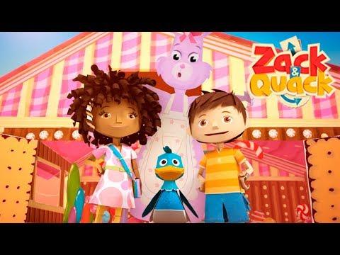 Easter Egg Hunt   Zack & Quack - FULL EPISODE   ZeeKay Junior