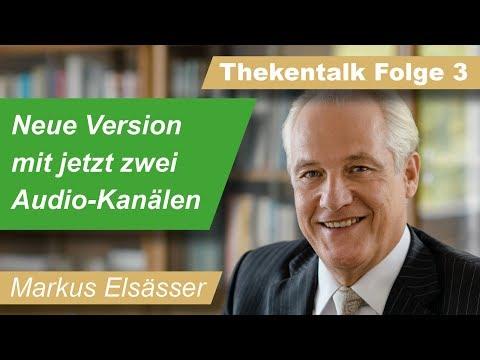 Markus Elsässer im Thekentalk (3): Aktien. Hongkong. Mentalitäten. Crashpropheten.