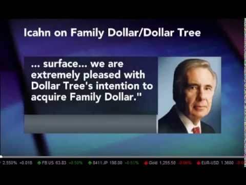 Domenic Romano on Bloomberg - Dollar Tree buys Family Dollar - 7/28/14