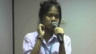 นักเรียนประกวดร้องเพลงลูกทุ่ง