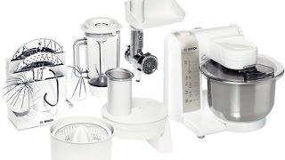 Обзор Кухонная машина BOSCH MUM4880.