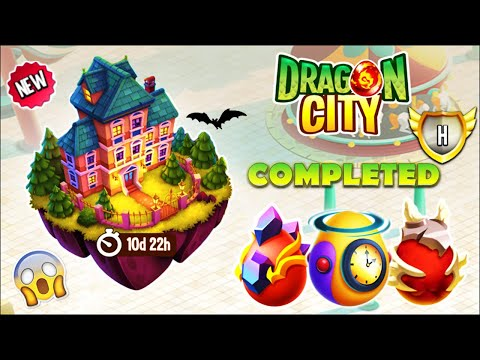 Dragon City - Mystery Mansion Island + All Dragons [First Looks 2021] 😱