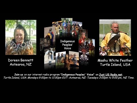INDIGENOUS PEOPLES' VOICE Maori and Cherokee Presenters