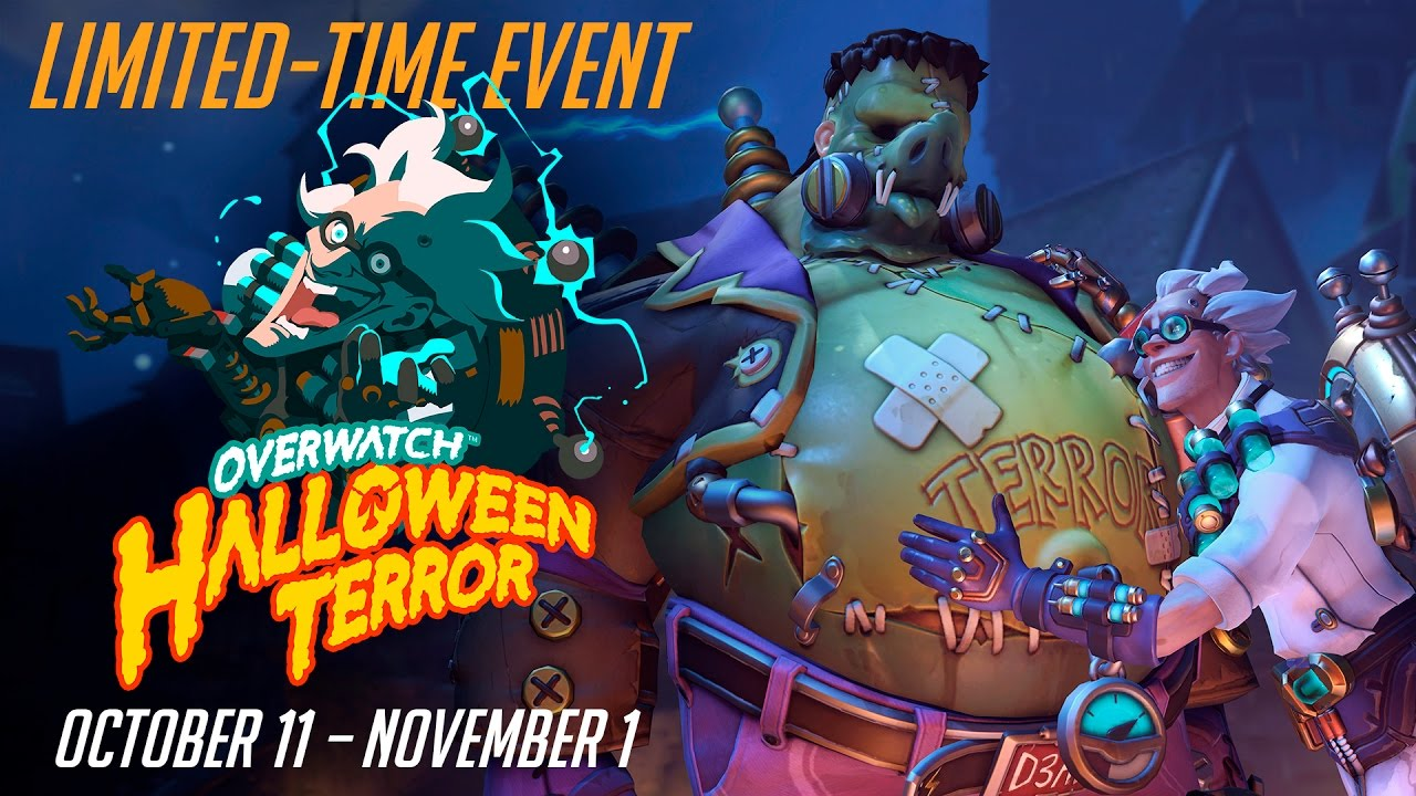 Image result for overwatch halloween terror