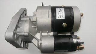 Стартер редукторный JOB's для тракторов мтз, т40, т-25(Стартер с редуктором МТЗ торговой марки JOB